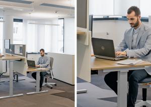 Scrivania regolabile Lift Desk Pure