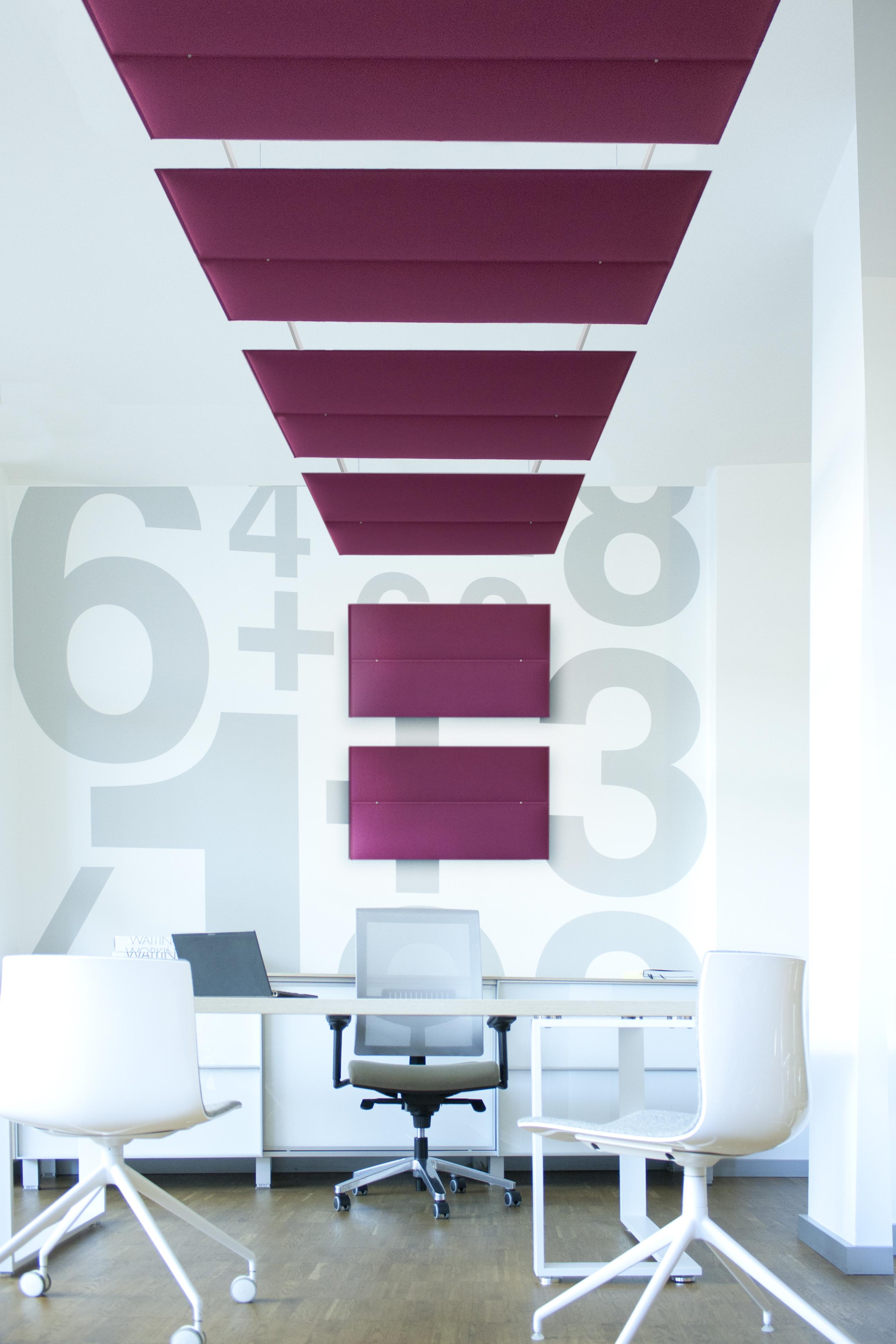 pannelli fonoassorbenti a soffitto