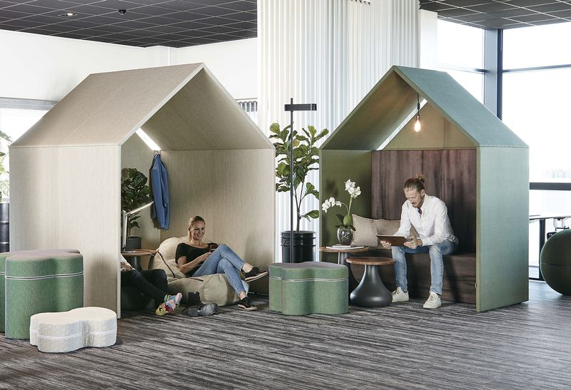 Office booth Hut