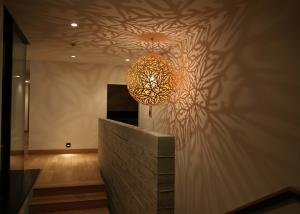 sola lamp david trubridge