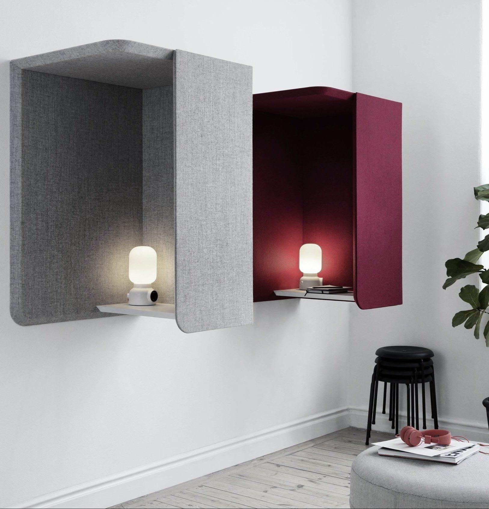 Domo wall booth Abstracta – phone booth fonoassorbente da parete