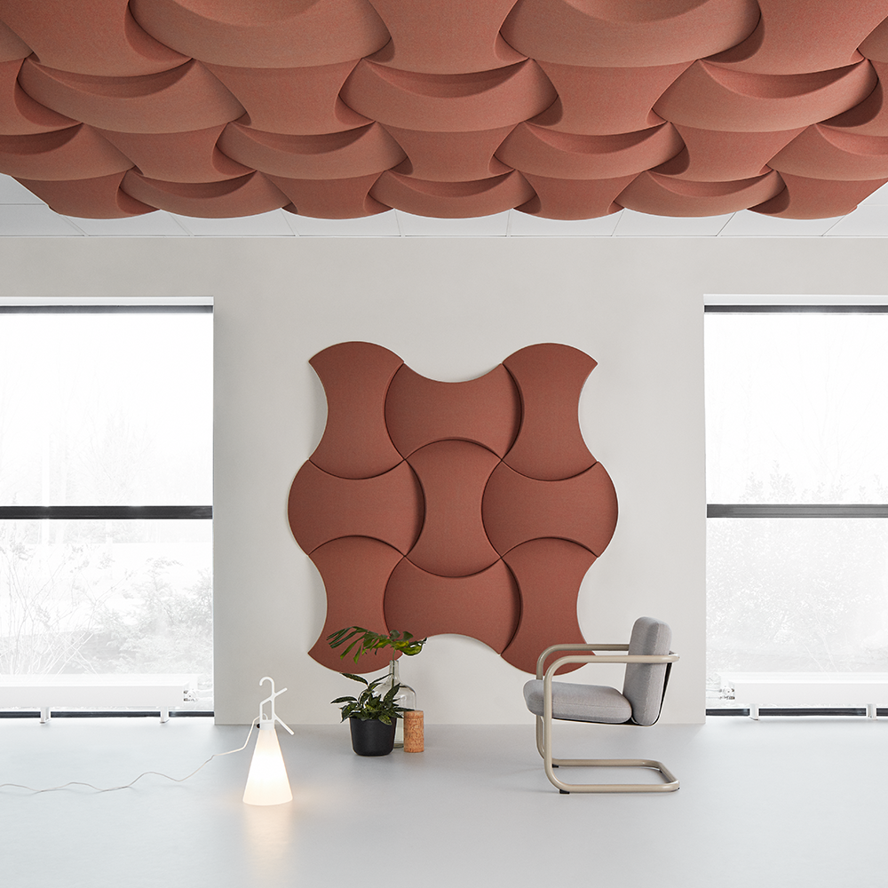 Sky Ceiling Abstracta – pannello fonoassorbente da soffitto