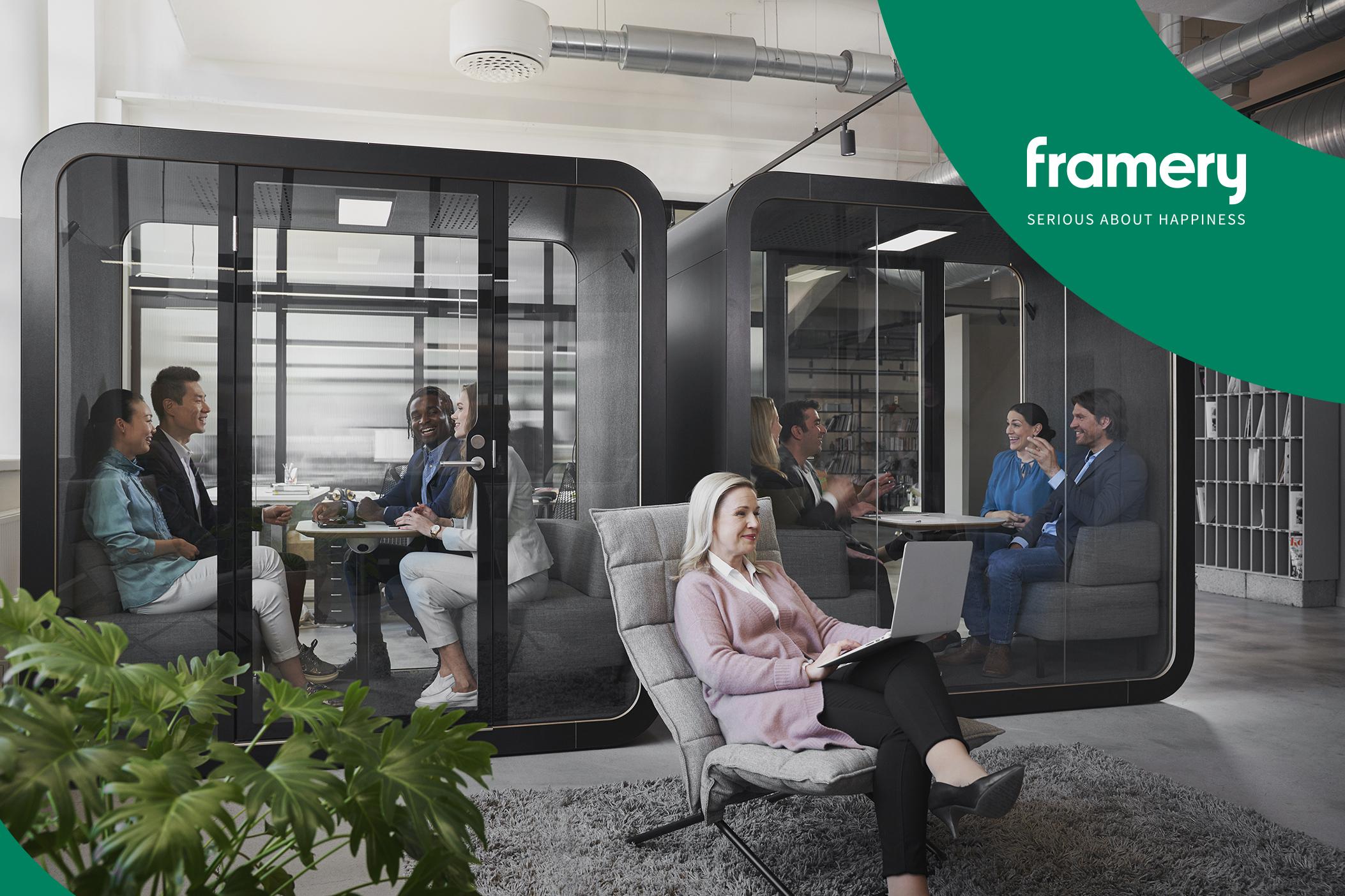 Framery 2Q – office pod per meeting